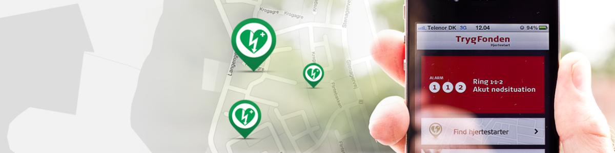 Hjertestarter app